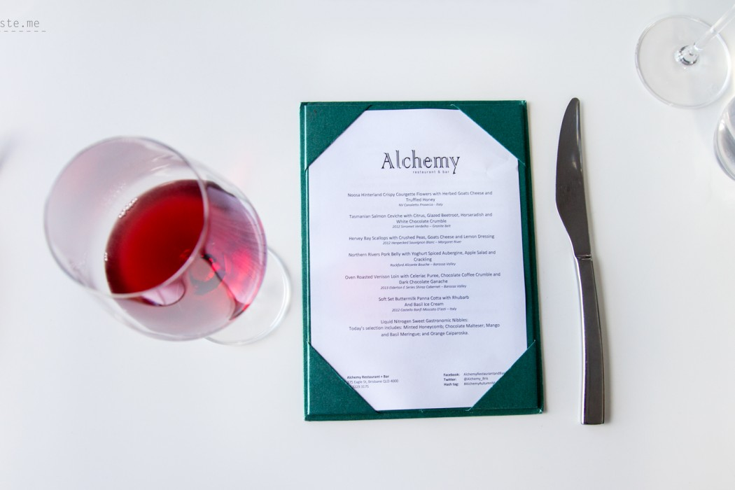 Alchemy Restaurant + Bar, Brisbane
