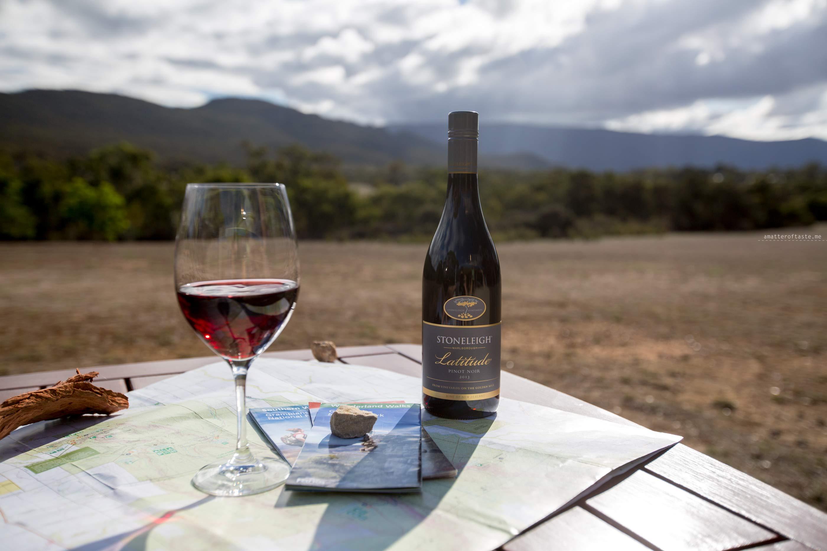 Grampians National Park with Stoneleigh Wine + venison recipe