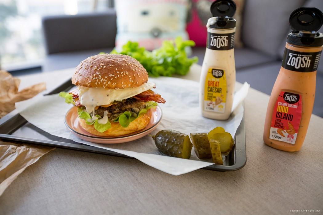 Polish Inspired Burger Recipe