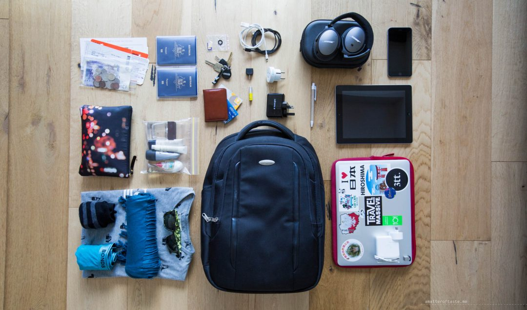 how to pack a carry on bag for flying